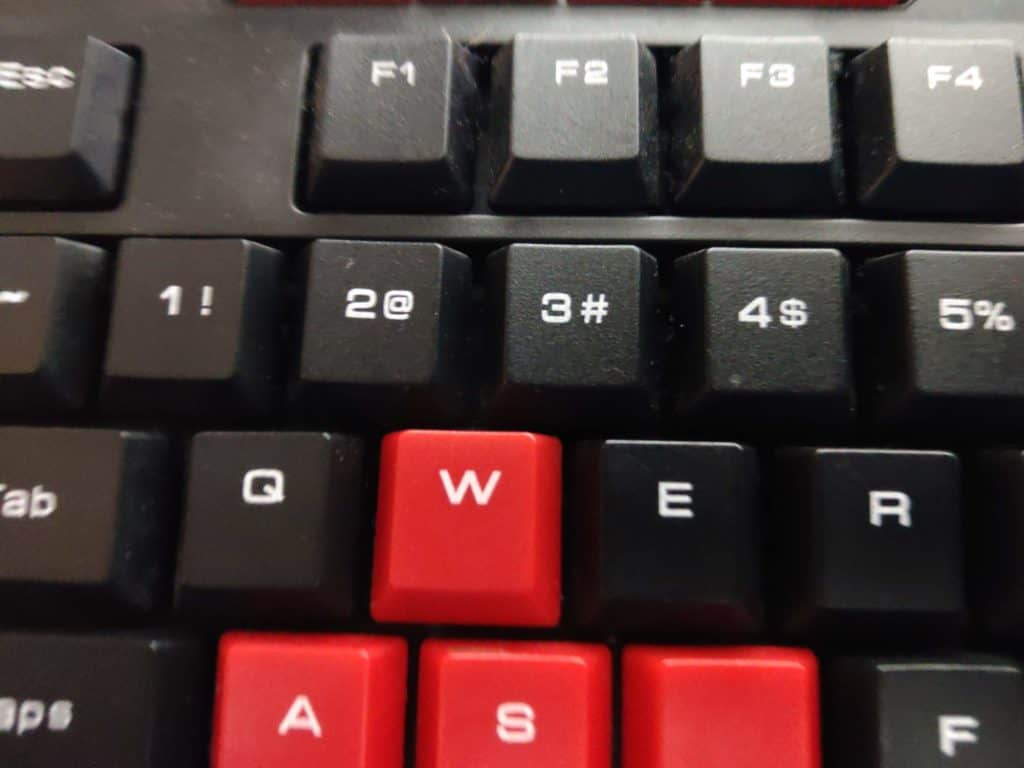 Why is the Numpad on the right top number row