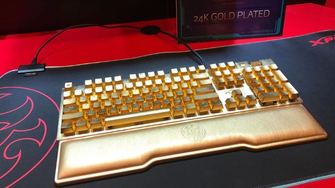 Kirameki Pure Gold Keyboard super expensive