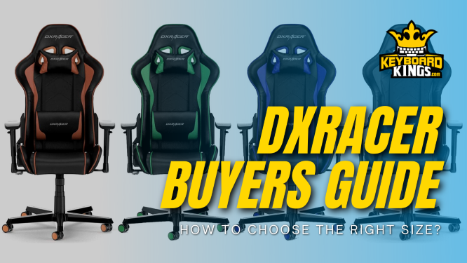 How to Choose the Right Size DXRacer Gaming Chair