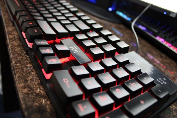 Rii RK100 Gaming Keyboard design and build quality