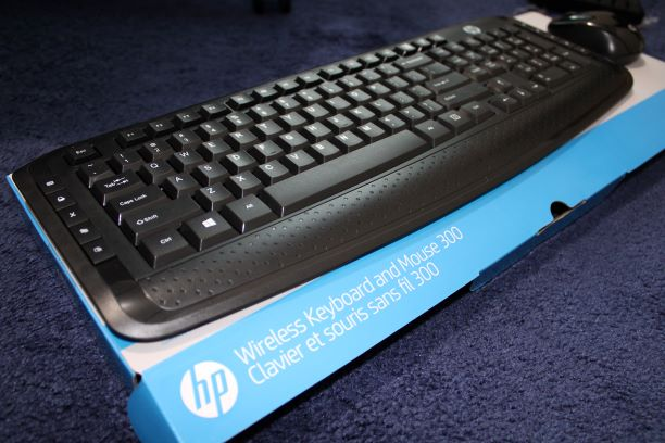 HP Wireless Keyboard and Mouse 300 Review