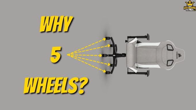 How Many Wheels Do Office Chairs Have Why 5
