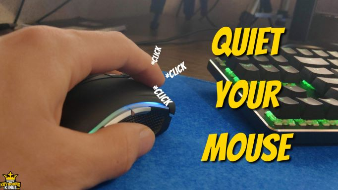 How to Make Computer Mouse Quiet